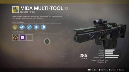 Destiny 2 - MIDA Multi-Tool