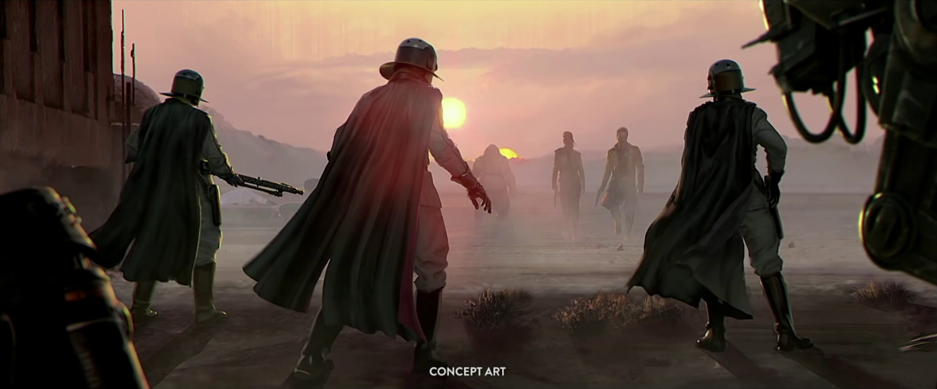 Visceral Games Star Wars Project Desert Concept Art