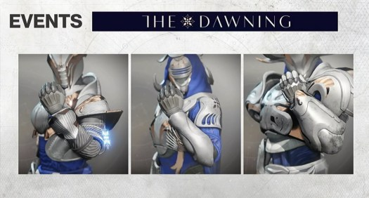 Destiny 2 - The Dawning-themed armor