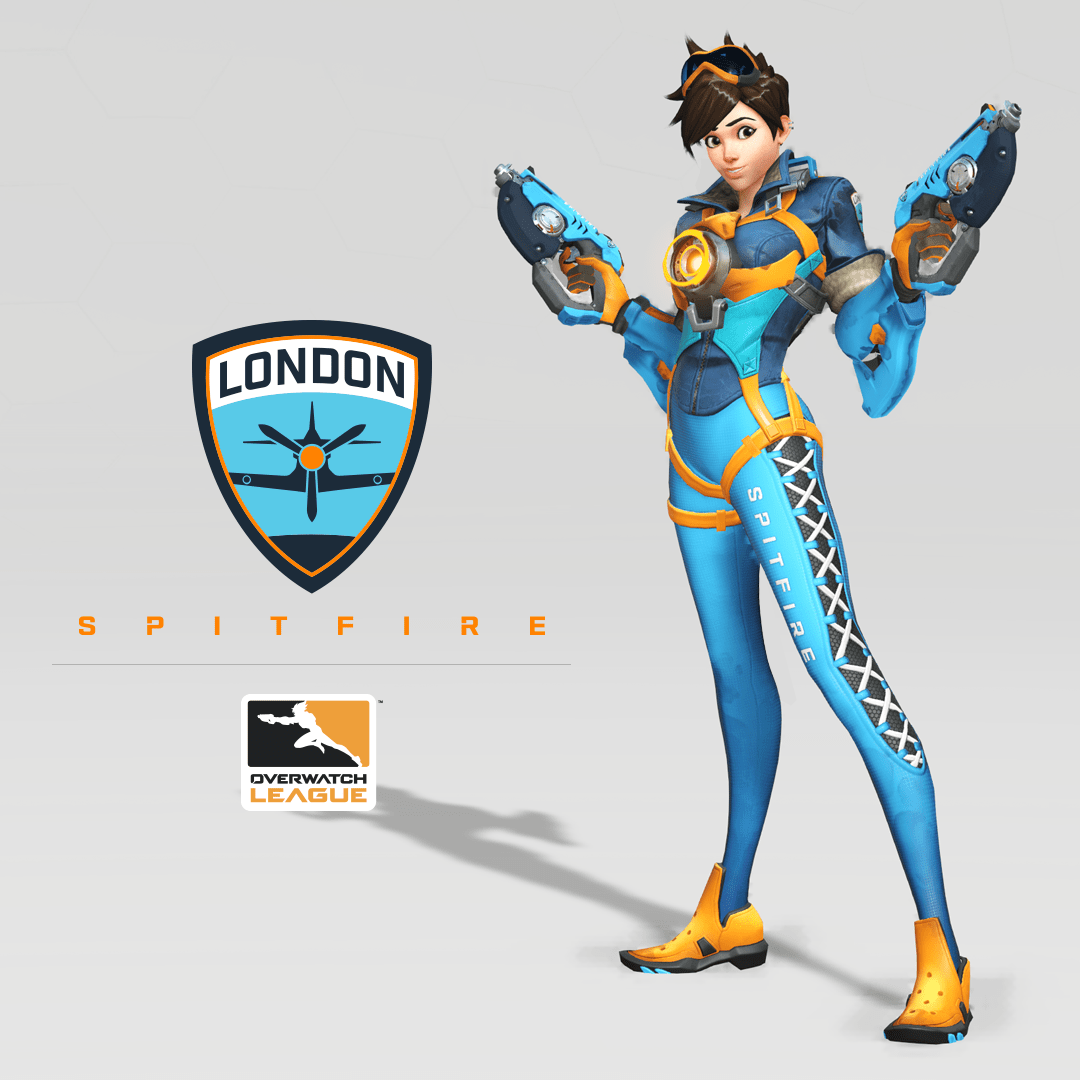 London Spitfire Debut Their Overwatch League Branding And