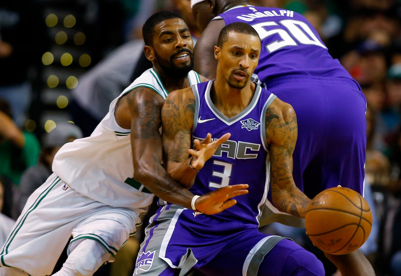NBA: Sacramento Kings at Boston Celtics
