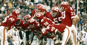 huddle - Two championships in one season: 1969 Kansas City Chiefs
