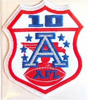 afl 10 patch - Two championships in one season: 1969 Kansas City Chiefs