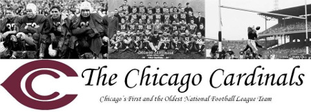 Chicago Cardinals 1922 - Cardinals Are nation's oldest pro football team