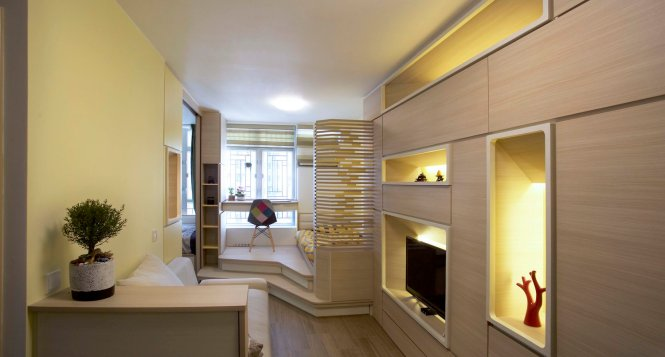 Micro Apartment For Family Of 3 Doubles As Ceramics Gallery