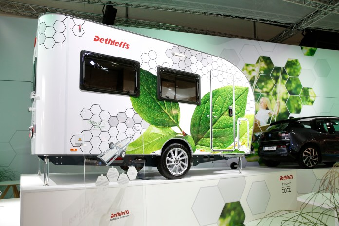 electric camper trailer could be towedtiny electric car - curbed