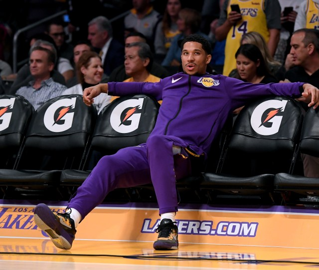 Lakers Keep Leaving Josh Hart Hanging On High Fives This Must End Sbnation Com