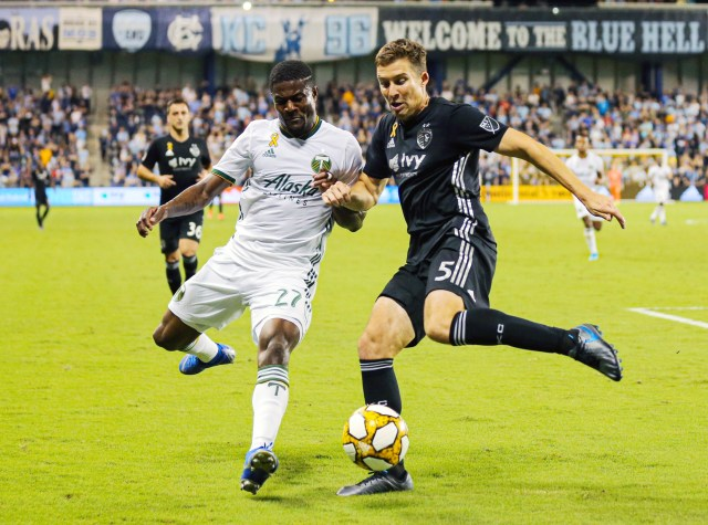 MLS: Portland Timbers at Sporting Kansas City