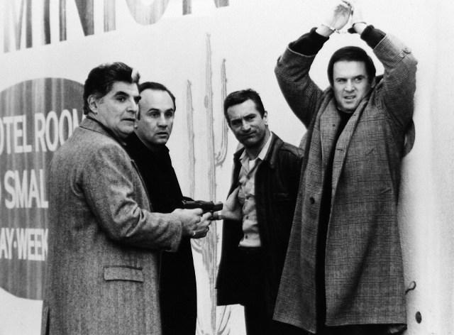 Richard Foronjy, Robert Miranda, Robert De Niro and Charles