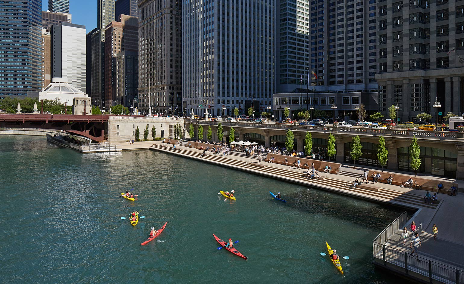 Chicago Riverwalk To Transform The Citys Urban Experience