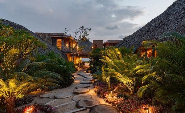 House on the Pacific Coast, Mexico
