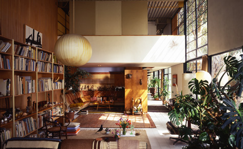 Eames Interior eames case study house #8 – mid century modern groovy