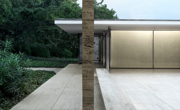 Mies van der Rohe's Barcelona Pavilion celebrates 30 years