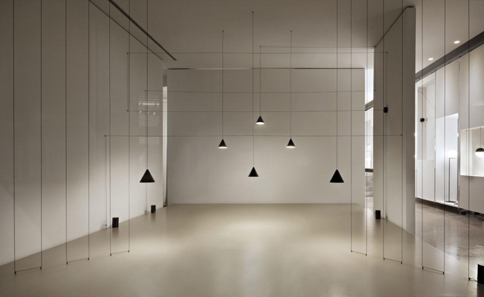 Michael Anastassiades String Lights Hit Flos Stores