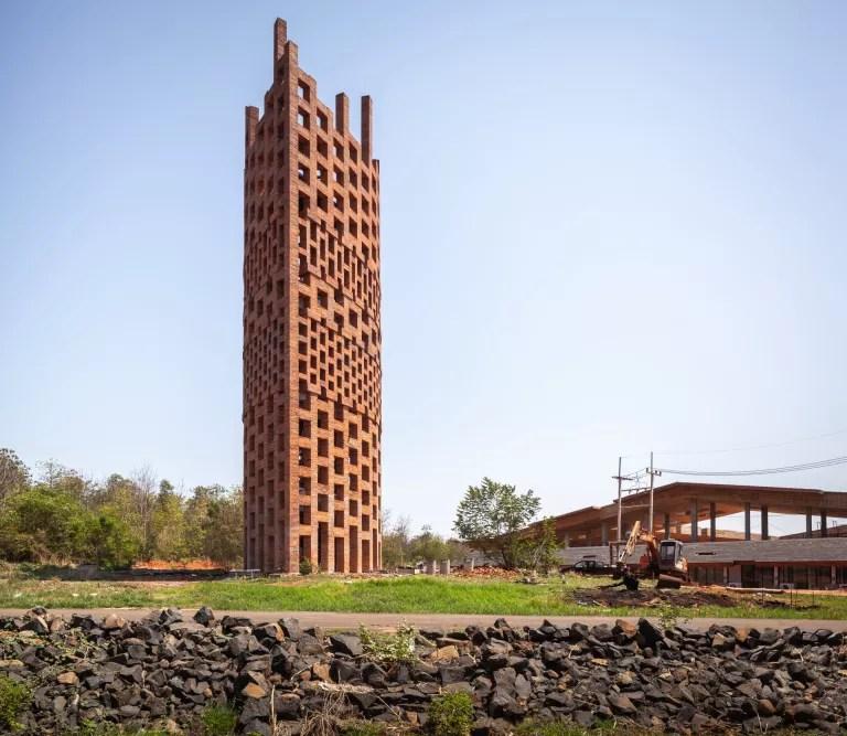 Brick Observation Tower