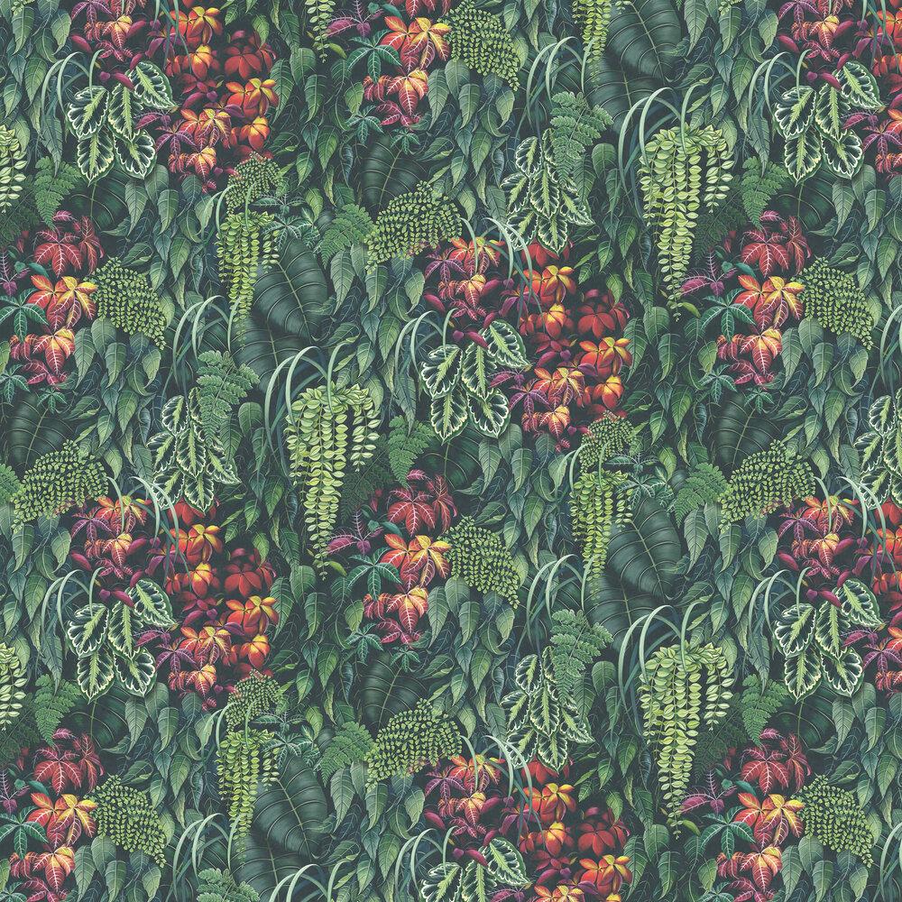 Green Wall By Osborne Little Emerald Green Red Wallpaper Wallpaper Direct