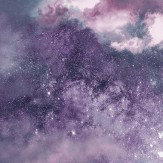 Purple wallpaper   Wallpaper Direct Arthouse Diamond Galaxy Deep Purple Wallpaper
