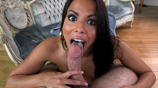 Luna Star sucked on that cock POV style thumb