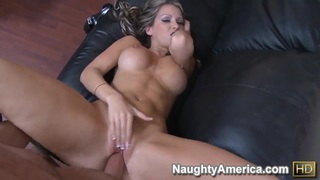 Buxom blonde ex wife, Courtney Cummz, can not forget ex husband's dick in her hole thumb