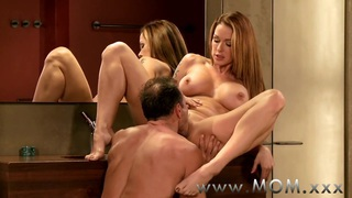 MOM MILF's with big breasts getting fucked thumb