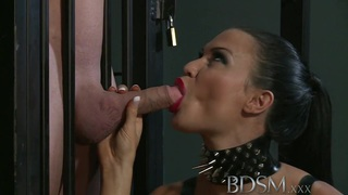 BDSM XXX Subs_are humiliated before anal thumb