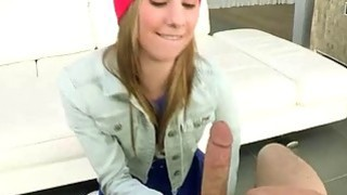 Tight blonde teen ho Tysen Rich pussy fucked with big cock thumb