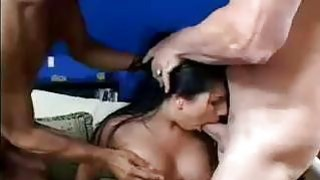 Busty Whore Double Penetrated thumb