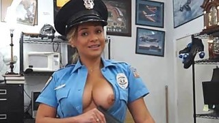 Sexy Cop Sucking Dick In Back Office Of Pawn Shop thumb