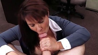 Huge boobs milf pawns her pussy and screwed for cash thumb