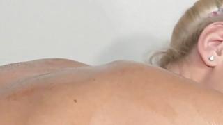Beautiful blonde on lesbian nuru massage thumb