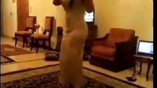 Shy Arab Woman Dancing Around thumb