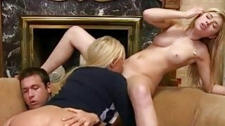Giant boobs milf Karen Fisher horny FFM thumb