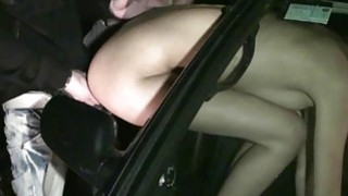 Cute girl Kitty Jane PUBLIC sex gangbang blowjobs with random strangers with big dicks thumb
