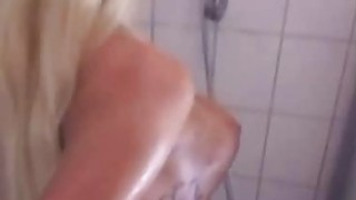 Tattooed MILF Anal in the shower thumb