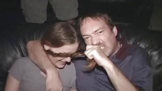 Pigtail Teen ASS FUCK Orgy in XXX Theater thumb