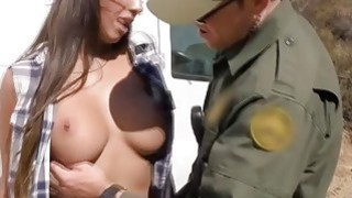Sexy Smuggler Pays The Price For Getting Caught At The Border Crossing thumb