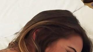 Lovely girlfriend Eva Lovia screwed and caught on cam thumb