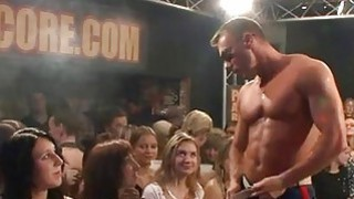 Uncensored fuckfest party with horny men and babes thumb