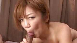 Pretty asian playgirl gives salacious titty fuck thumb