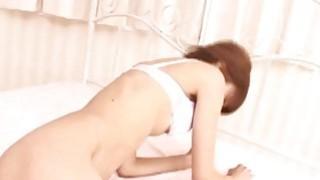Aoi Amamiya gets such hard fuck of her vagina thumb