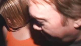 Big Tit Blonde Sally Rides Cocks in Porno Theater thumb