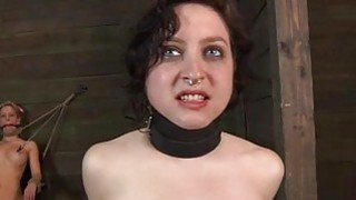 Worthless whore is made to enjoyment her twat thumb