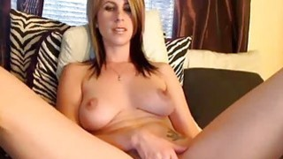 Hot Webcam Girl Orgasms Hard With Hitachi thumb