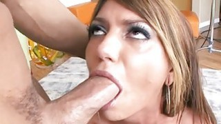Sexy honey is chap with wicked blowjob thumb