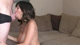 Huge tits Milf anal fucks in casting thumb