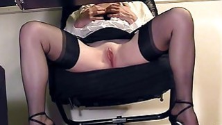 Compilation of secretary legs and masturbation thumb