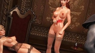 3D_Busty_Elf_Babe_Destroyed_in_Threesome! thumb