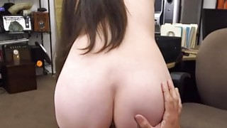 Horny cute babe spread her_legs to fuck for cash thumb