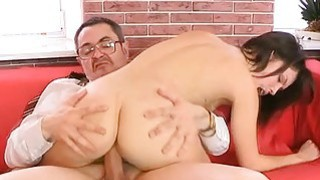 Old teacher is pleasing babes bawdy cleft thumb
