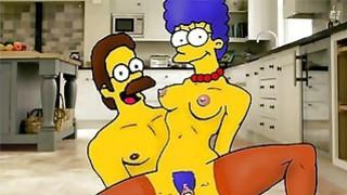Marge Simpsons hidden orgies thumb